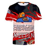 T-shirt Among Us Emergency Meeting