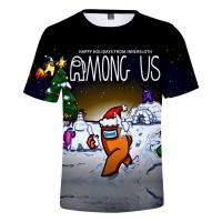 T-shirt Among Us Joyeuses Fêtes