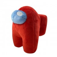 Peluche Among Us Rouge