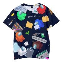 T-shirt Among Us Joueurs & Objets