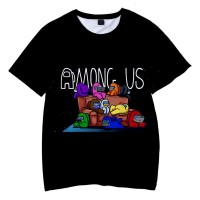 T-shirt Among Us Canapé Logo