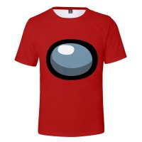 T-shirt Among Us Rouge