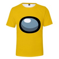 T-shirt Among Us Jaune