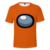 T-shirt Among Us Orange