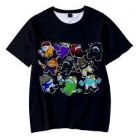 T-shirt Among Us Équipiers & Imposteurs