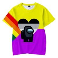 T-shirt Among Us Pride