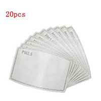 20 filtres PM2.5 masque